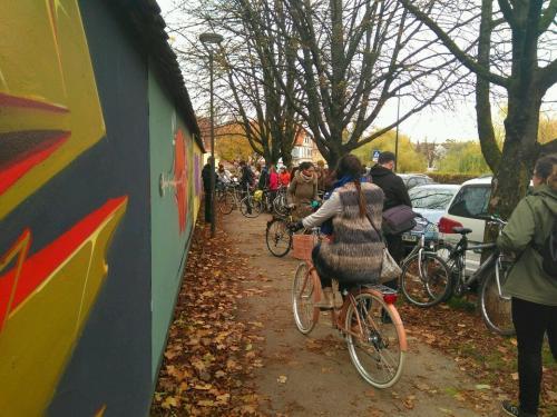 Grafitarska kolesarska tura, 28.10.2017